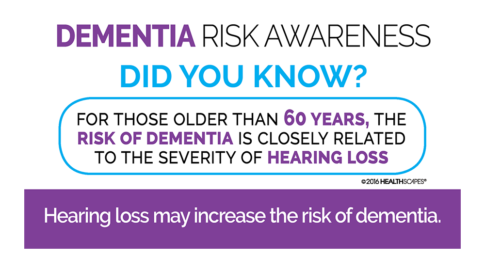 Are you at risk for hearing loss related dementia?